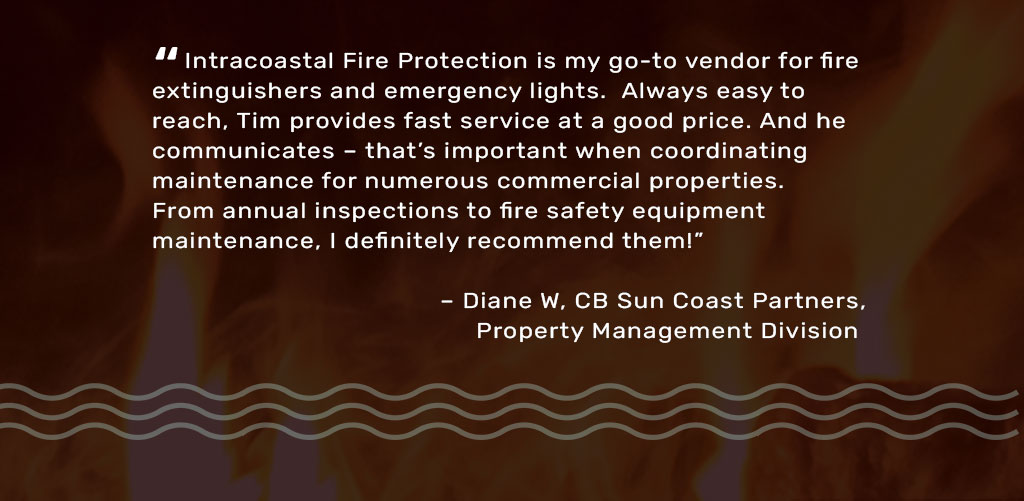fire safety repairs